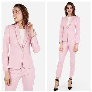Express Jackets & Coats - New Express Pink One Notch Blazer